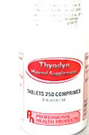 Professional Health Products Thyrodyn 250 Tablets