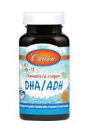 Carlson For Kids DHA 100 mg Orange 120 Chewable softgels
