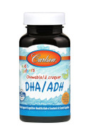 Carlson For Kids DHA 100 mg Orange 120 Chewable softgels