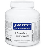 Pure Encapsulations Heartburn Essentials 180 Veg Capsules