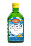Carlson Norwegian Cod Liver Oil Lemon 250 ml