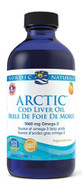 Nordic Naturals Arctic Cod Liver Oil Liquid Orange 16 Oz