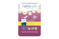 NatraCare Night-Time Pads 10 per Package
