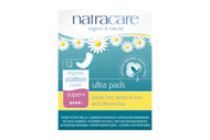 NatraCare Natural Ultra Pads Super Plus 12 Per Package
