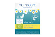 NatraCare Ultra Pads With Wings Regular 14 Per Package