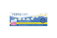 NatraCare Organic Cotton Super Plus Non Applicator Tampon 20 Per Package