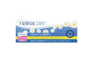 NatraCare Organic Cotton Super Plus Non Applicator Tampon 20 Per Package