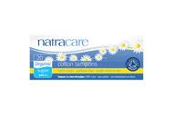NatraCare Organic Super Non Applicator Tampons 20 Per Package