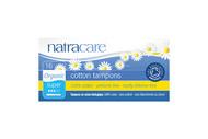 NatraCare Organic Super Applicator Tampons 16 Per Package