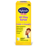 Hylands 4 Kids All Day Cold n Cough Syrup 4 Oz