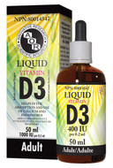 Aor Vitamin D3 Liquid Adult 50 Ml (1187)