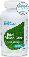 Platinum Naturals Total Vision Care 30 Liquid Capsules