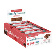 Simply Protein Bar Cocoa Raspberry Box of 12