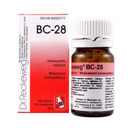 Dr Reckeweg BC28 - 200 Tablets (10118)