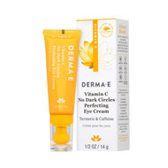 Derma e Vitamin C No Dark Circles Perfecting Eye Cream 14 g Label