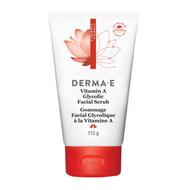 Derma e Vitamin A Glycolic Facial Scrub 113 Grams