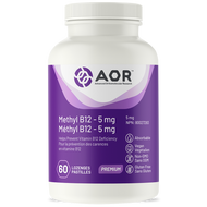 AOR Methylcobalamin 5 Mg 60 Lozenges