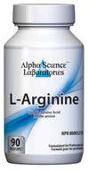 Alpha Science L-Arginine 500 mg 90 Capsules