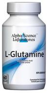 Alpha Science L-Glutamine 500 mg 60 Capsules