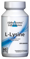 Alpha Science L-Lysine 500mg 90 Capsules