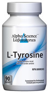 Alpha Science L-Tyrosine 400mg 90 Capsules