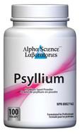 Alpha Science Psyllium Seed 100 Capsules