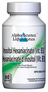 Alpha Science Inositol Hexaniacinate (Vit B3) 60 Capsules
