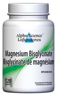 Alpha Science Magnesium BisGlycinate 120 Capsules