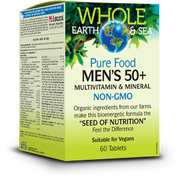 Whole Earth & Sea Men's 50+ Multivitamin & Mineral 60 Tablets By Natural Factors