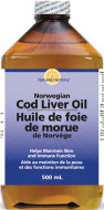 Nature's Harmony Cod Liver Oil Norwegian Plain 500 ml