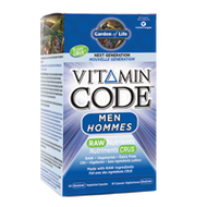 Garden of Life Vitamin Code Men Next Generation 60 Capsules