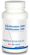 Biotics Research Methionine 200 - 100 Capsules