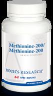 Biotics Research Methionine 200 - 100 Capsules