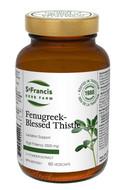 St Francis Fenugreek-Blessed Thistle 60 Veg Capsules (14406)