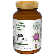 St Francis Milk Thistle 60 Veg Capsules (14412)