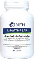 NFH L-5 MTHF SAP 60 Veg Capsules