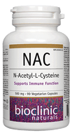 Bioclinic Naturals NAC 500 mg 90 Veg Capsules