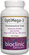 Bioclinic Naturals OptiMega 3 - 180 Softgels