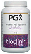 Bioclinic Naturals PGX Weight Loss Meal Replacement Double Chocolate 1Kg
