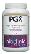 Bioclinic Naturals PGX Weight Loss Meal Replacement Very Strawberry 1Kg