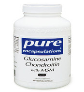 Pure Encapsulations Glucosamine Chondroitin MSM 120 Veg Capsules