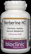 Bioclinic Naturals Berberine HCl 90 Capsules