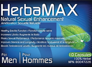 HerbaMax For Men Extra Strength 10 Capsules