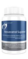Designs for Health Resveratrol Supreme 60 Veg Capsules