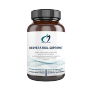 Designs for Health Resveratrol Supreme 60 Veg Capsules
