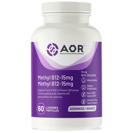 AOR Methylcobalamin Ultra 15 mg - 60 lozenges