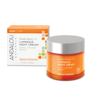 Andalou Naturals Purple Carrot + C Luminous Night Cream 50 ml