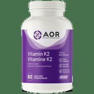 AOR Vitamin K2 - 60 Veg Capsules