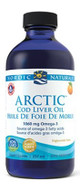 Nordic Naturals Arctic Cod Liver Oil Liquid Orange 8 Oz