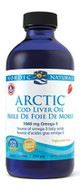 Nordic Naturals Arctic Cod Liver Oil Liquid Strawberry 8 Oz